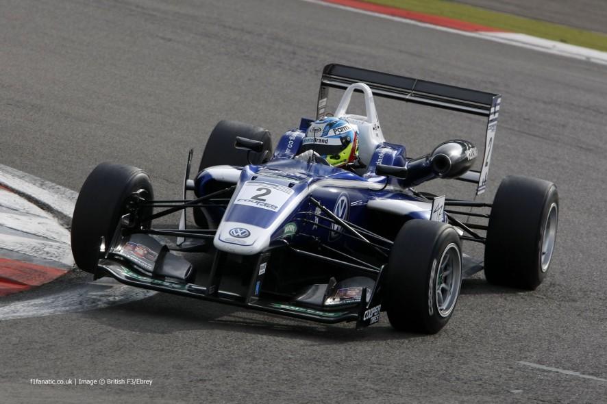 Jordan King, Carlin, British Formula Three, Nurburgring, 2014