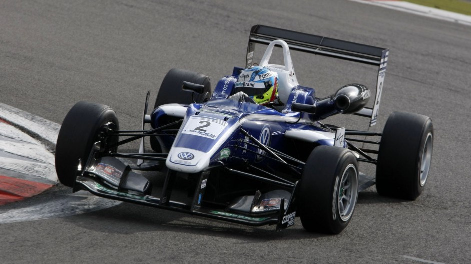 Jordan King, Carlin, British Formula Three, Nurburgring, 2014