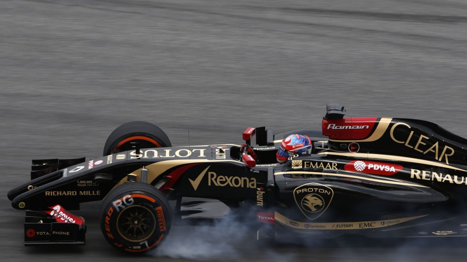 "Lotus pleased with ""big step forwards"""