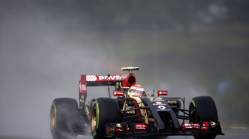 Pastor Maldonado, Lotus, Sepang International Circuit, 2014