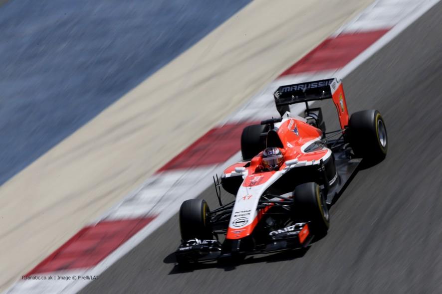 Jules Bianchi, Marussia, Bahrain, 2014