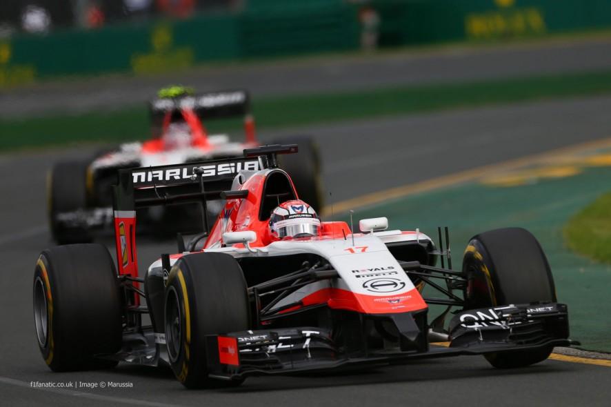 Jules Bianchi, Marussia, Albert Park, 2014