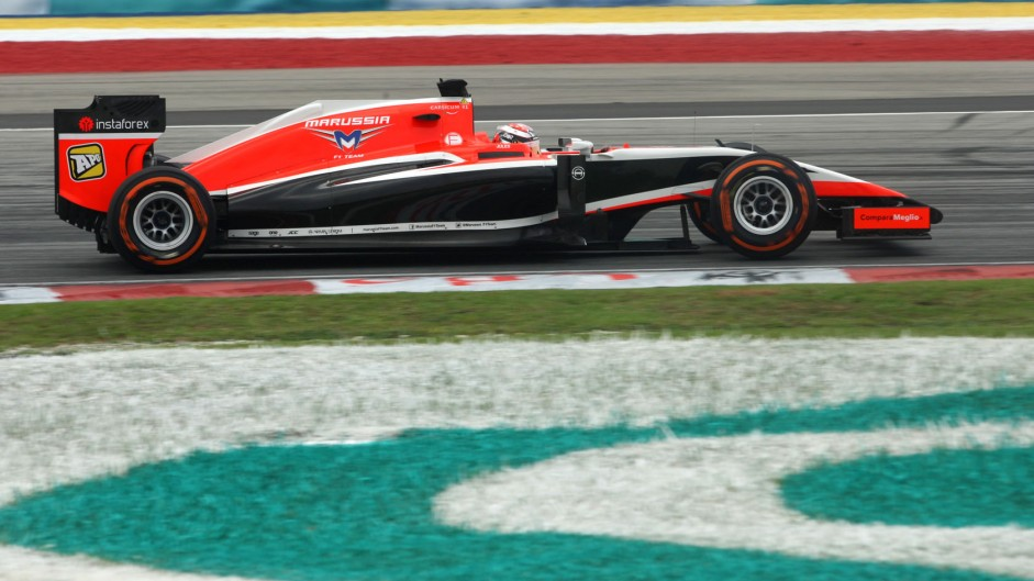 Jules Bianchi, Marussia, Sepang International Circuit, 2014
