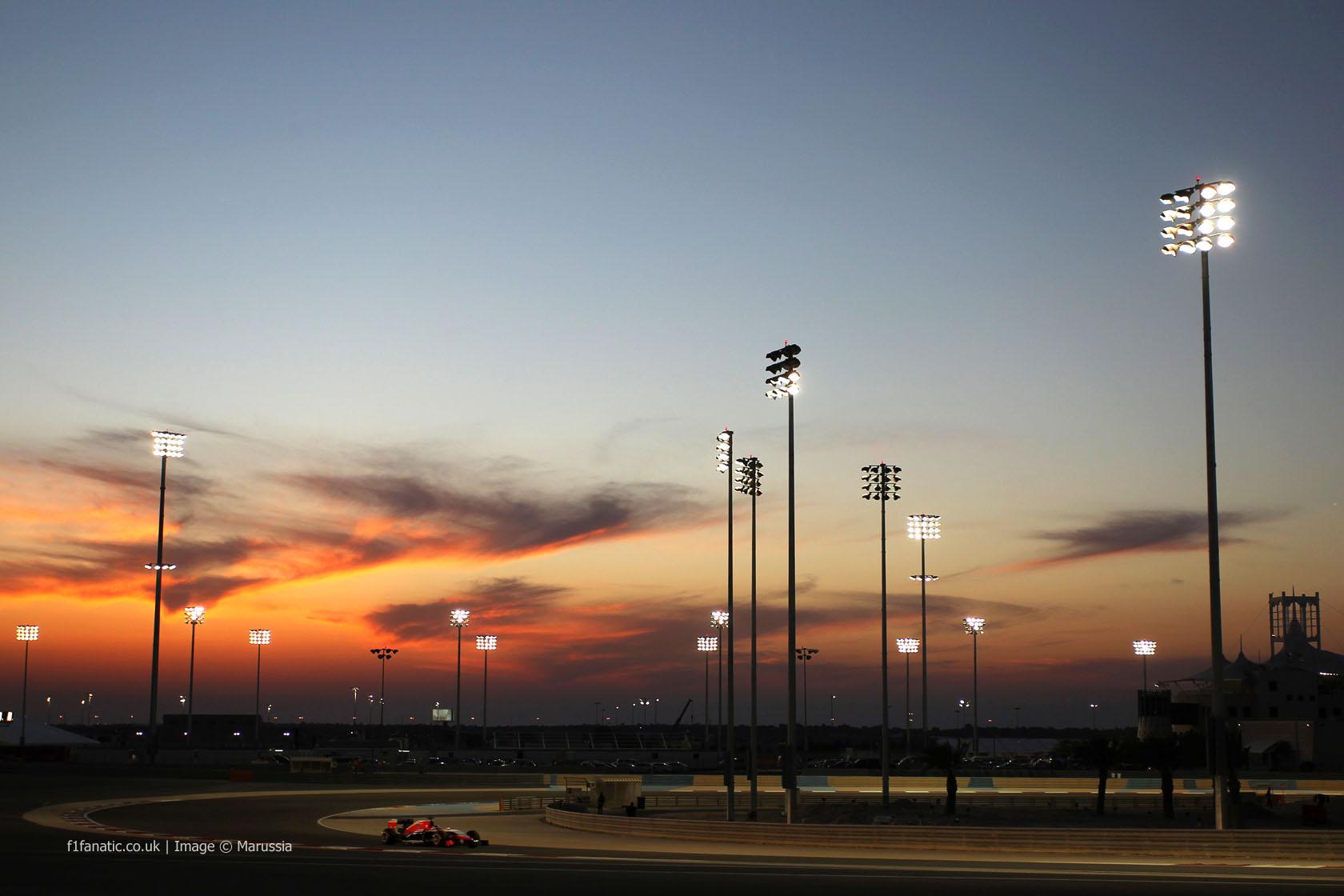 Max Chilton, Marussia, Bahrain, 2014