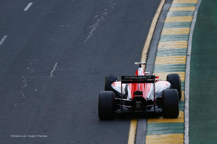 Max Chilton, Marussia, Albert Park, 2014