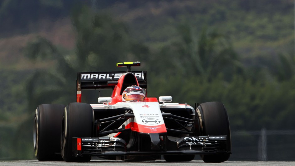 Max Chilton, Marussia, Sepang International Circuit, 2014