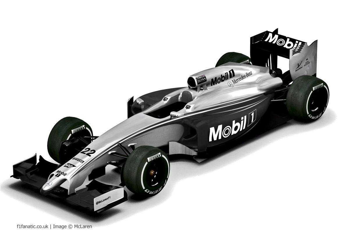 McLaren livery, 2014 Australian Grand Prix