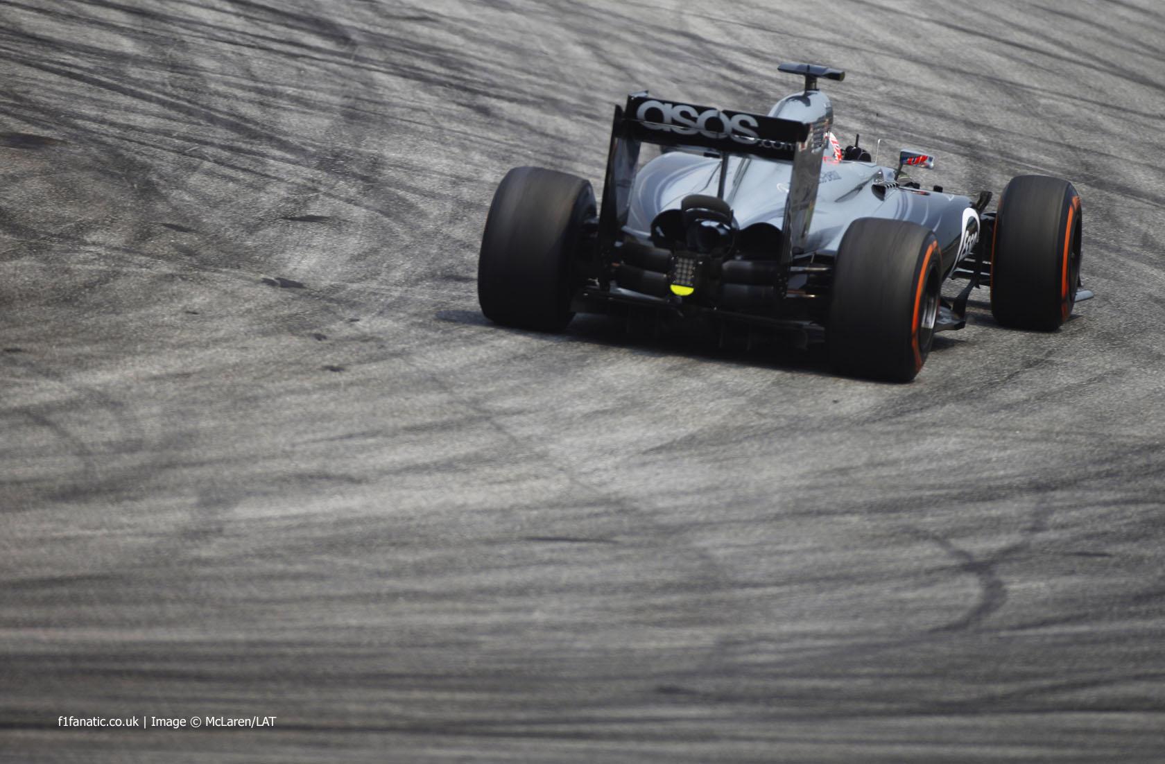 Jenson Button, McLaren, Sepang International Circuit, 2014