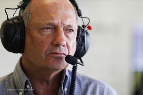 Ron Dennis, McLaren, Albert Park, 2014