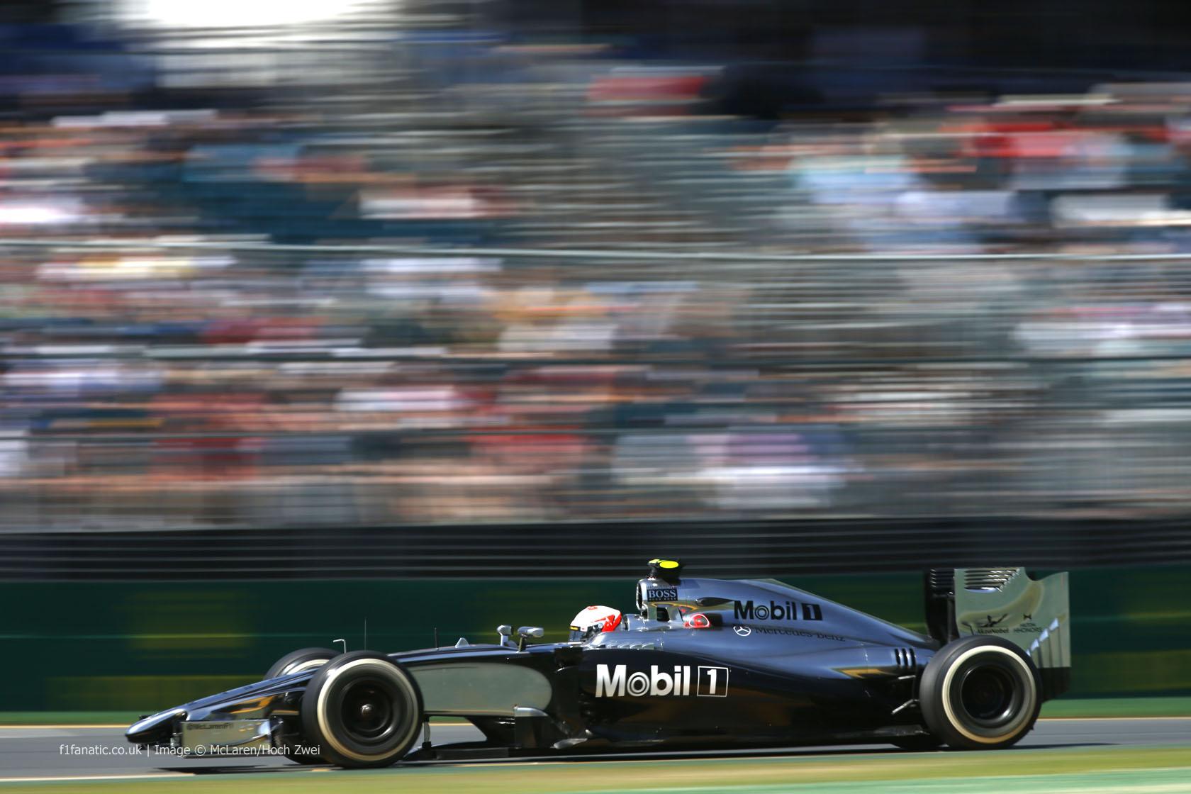 Kevin Magnussen, McLaren, Albert Park, 2014