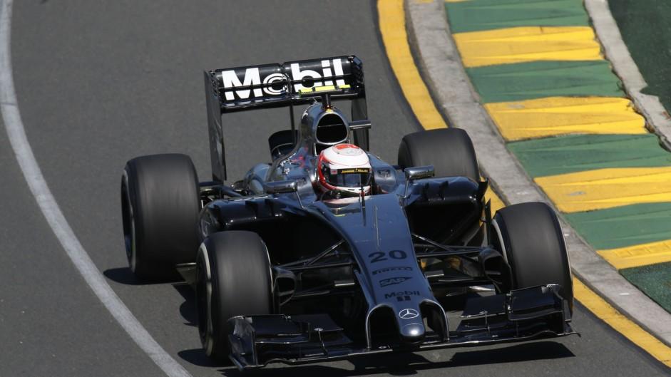 "Debut podium ""feels like a win"" – Magnussen"