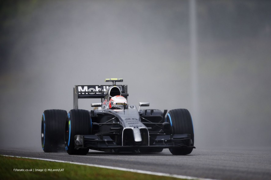 Kevin Magnussen, McLaren, Sepang International Circuit, 2014