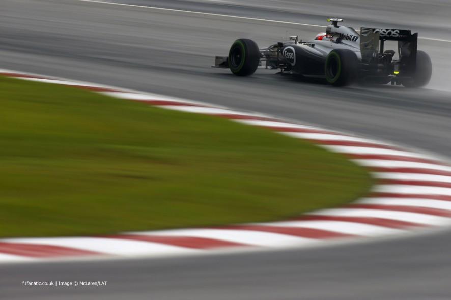 Kevin Magnussen, McLaren, Sepang International Circuit, 2014