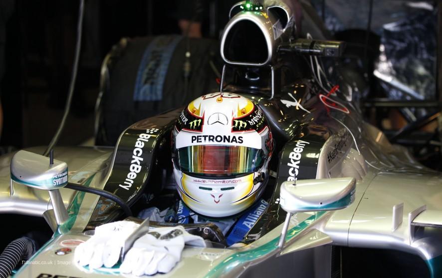 Lewis Hamilton, Mercedes, Albert Park, 2014