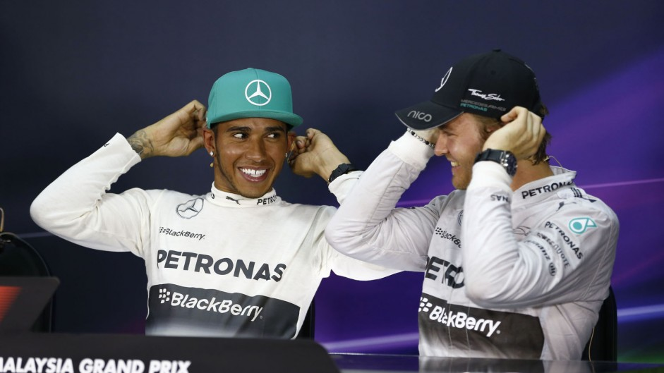 Lewis Hamilton, Nico Rosberg, Mercedes, Sepang International Circuit, 2014