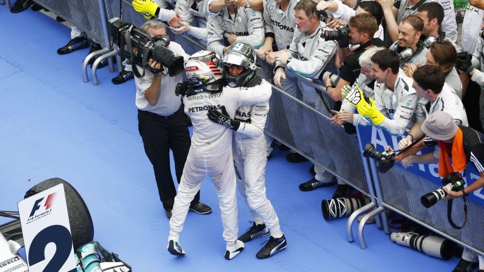 Lewis Hamilton, Nico Rosberg, Mercedes, Sepang International Circuit, 2014