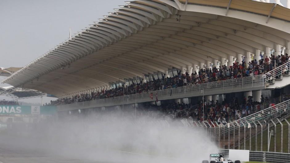 Lewis Hamilton, Mercedes, Sepang International Circuit, 2014