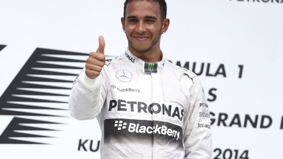 Hamilton claims record with first ever 'grand slam'