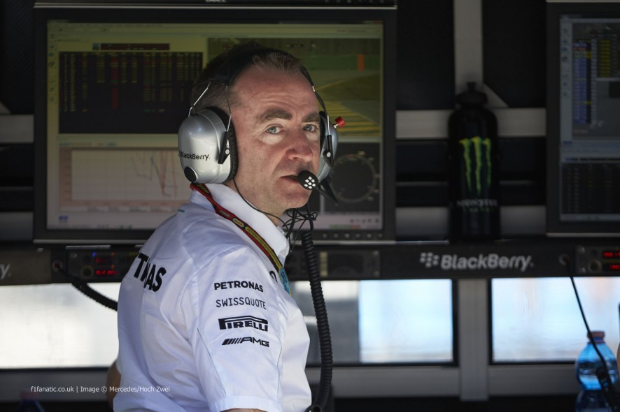 Paddy Lowe, Mercedes, Albert Park, 2014