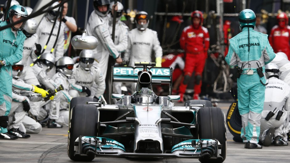 "Must keep improving after ""perfect start"" – Rosberg"