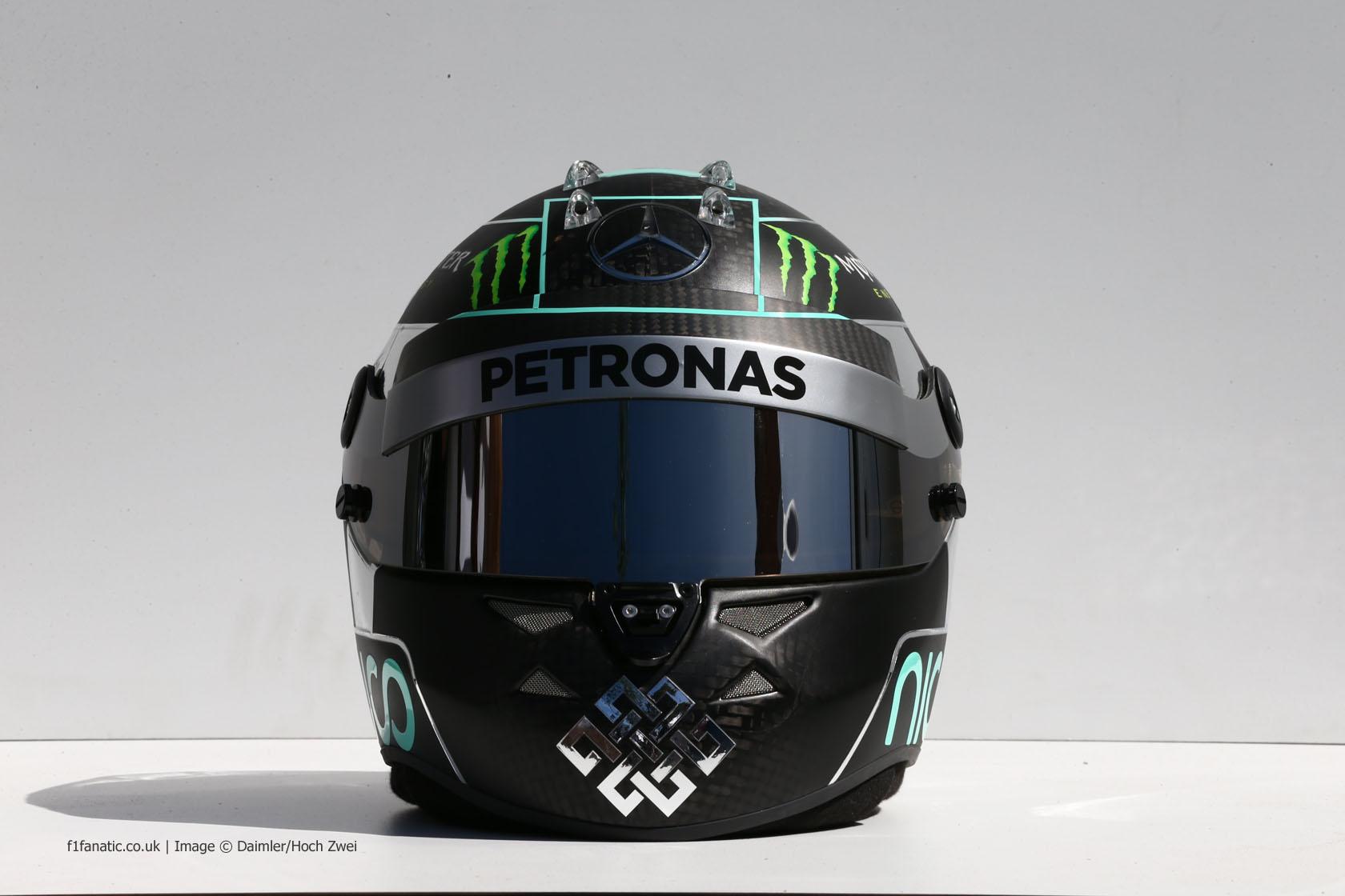 Merc Rosb Helmet