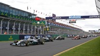 2014 Australian Grand Prix start, Albert Park, Melbourne