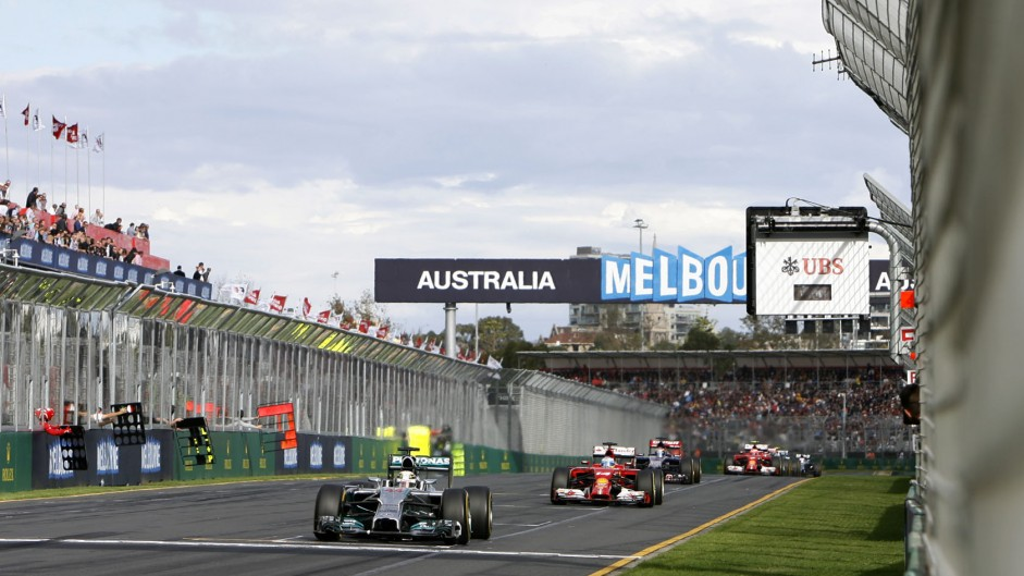 The full extent of Mercedes' advantage in Melbourne