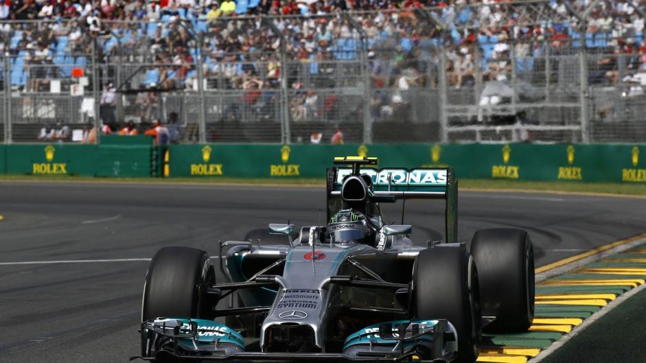 2014 Australian Grand Prix lap times and fastest laps