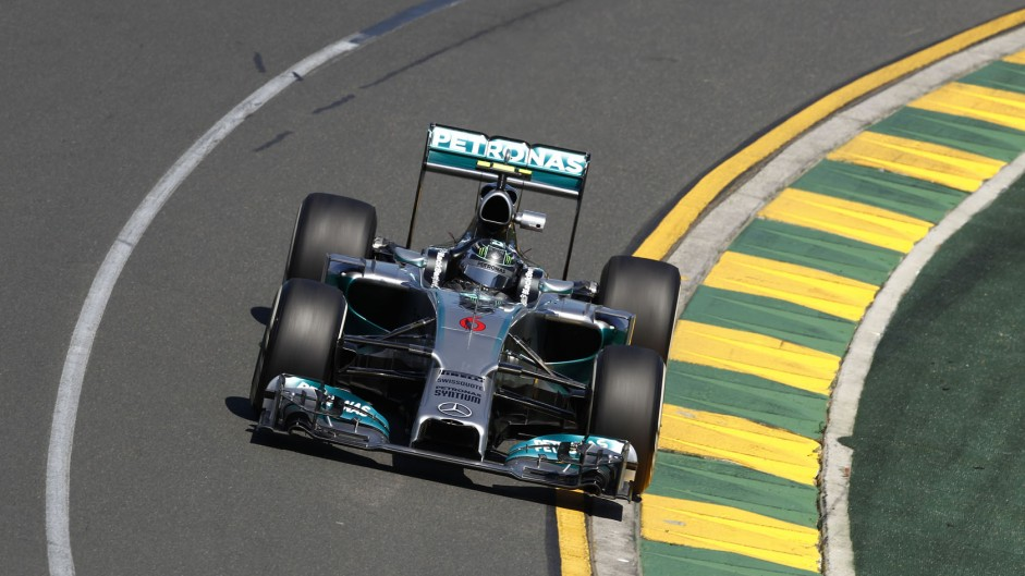 "Rosberg ""struggling"" with brake-by-wire"