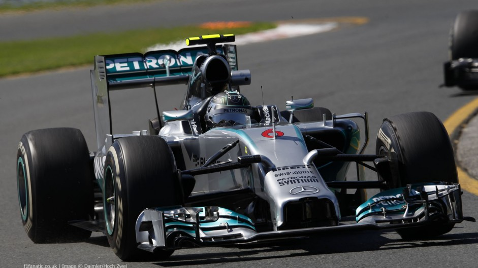 2014 Australian Grand Prix team radio transcript