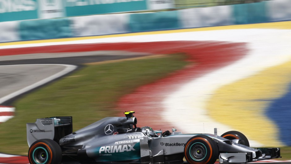Rosberg surprised by high tyre degradation