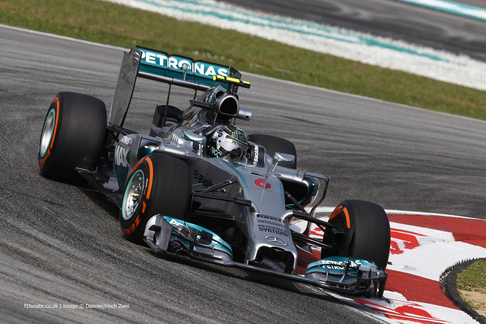 Nico Rosberg, Mercedes, Sepang International Circuit, 2014