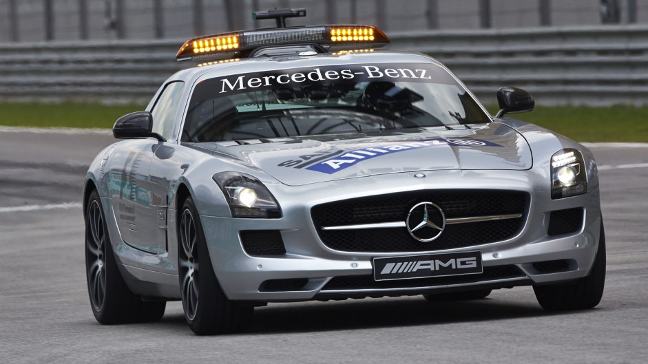 safety car mercedes sls amg sepang international circuit 2014 f1 fanatic. Black Bedroom Furniture Sets. Home Design Ideas
