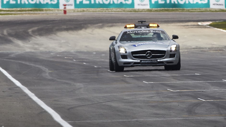 Safety Car, Mercedes SLS AMG, Sepang International Circuit, 2014