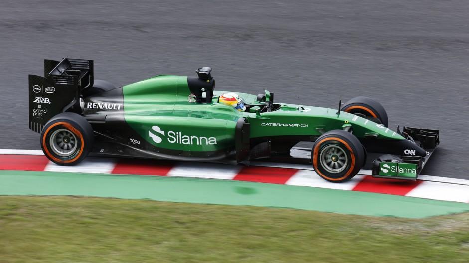 Roberto Merhi, Caterham, Suzuka, 2014