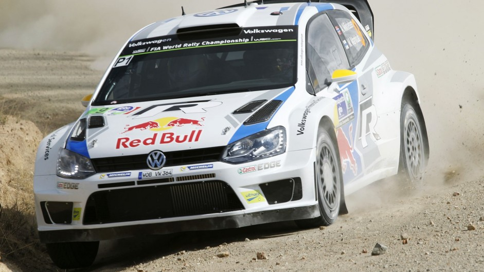 Andreas Mikkelsen, Volkswagen Polo, WRC, Mexico, 2014