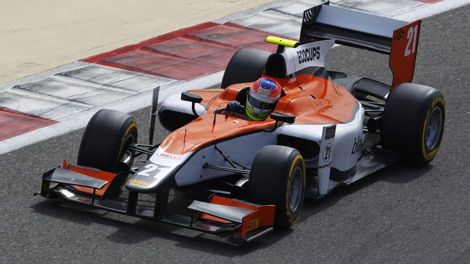 Jon Lancaster, MP, GP2, Bahrain, 2014