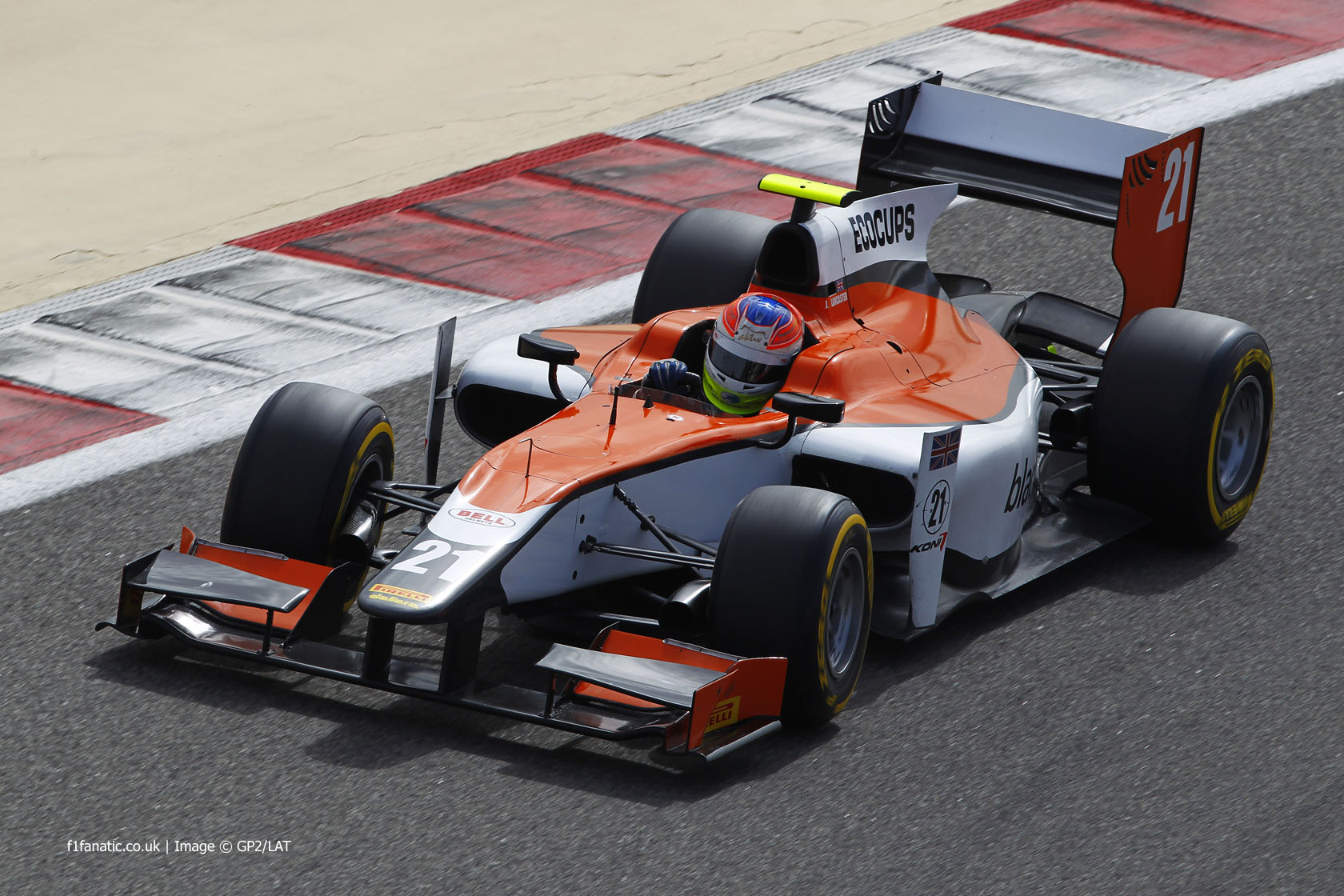 Jon Lancaster, MP, GP2, Bahrain, 2014