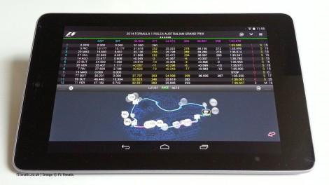Official F1 app 2014