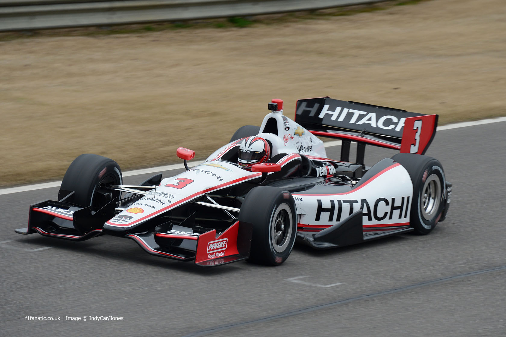 Helio Castroneves, Penske, Barber Motorsport Park, 2014