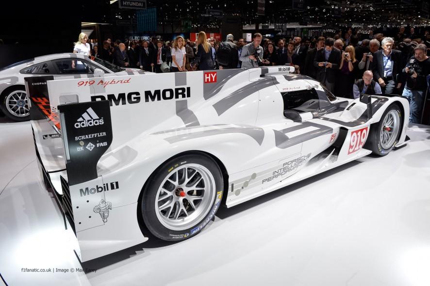 Porsche 919 Hybrid, Geneva Motor Show, 2014