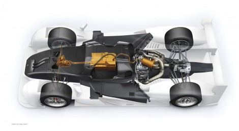 Porsche 919 Hybrid technology detail, 2014