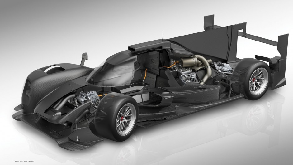 Porsche 919 Hybrid technology detail, 2014