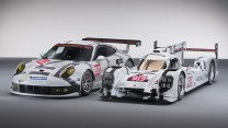 Porsche 911 RSR and 919 Hybrid, 2014