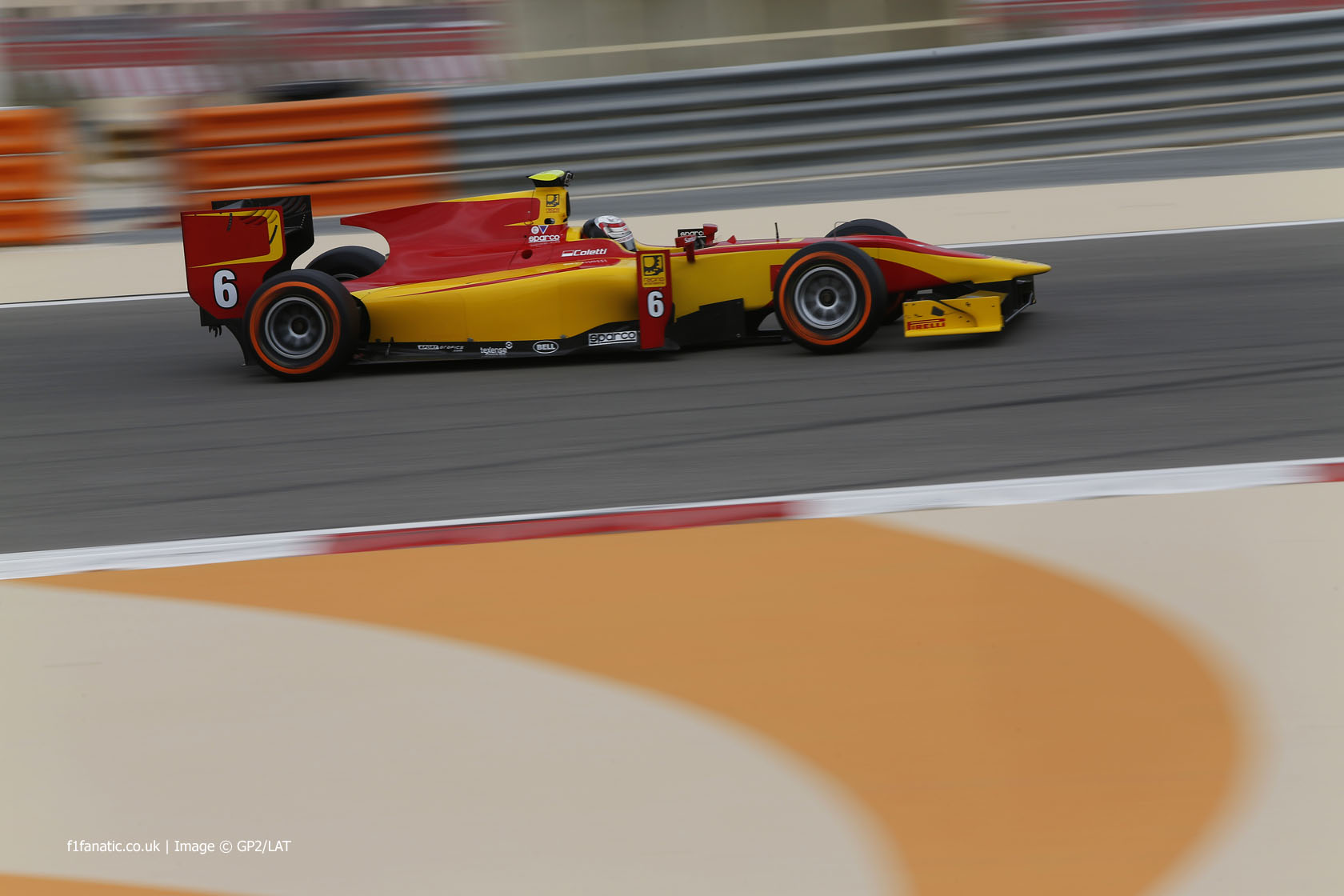 Stefano Coletti, Racing Engineering, GP2, Bahrain, 2014