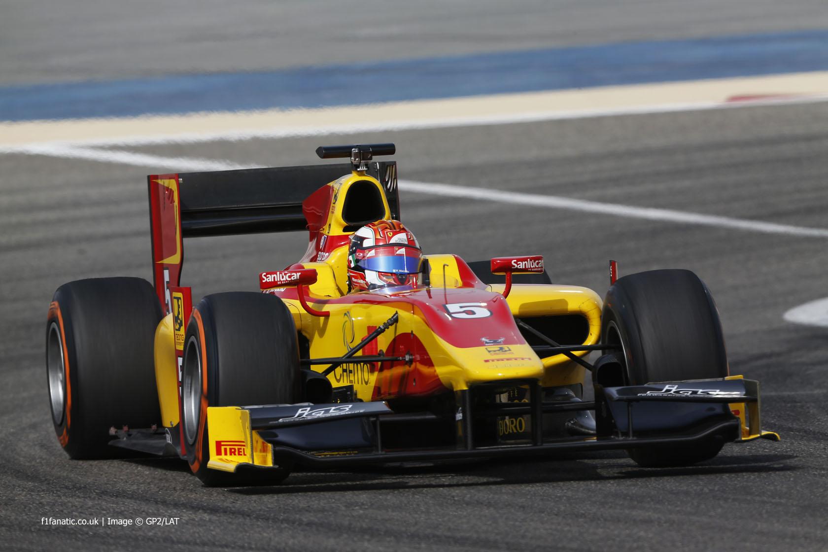 Raffaele Marciello, Racing Engineering, GP2, Bahrain, 2014