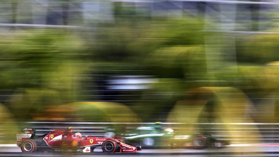 Kimi Raikkonen, Marcus Ericsson, Sepang International Circuit, 2014