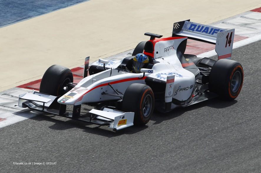 Adrian Quaife-Hobbes, Rapax, GP2, Bahrain, 2014