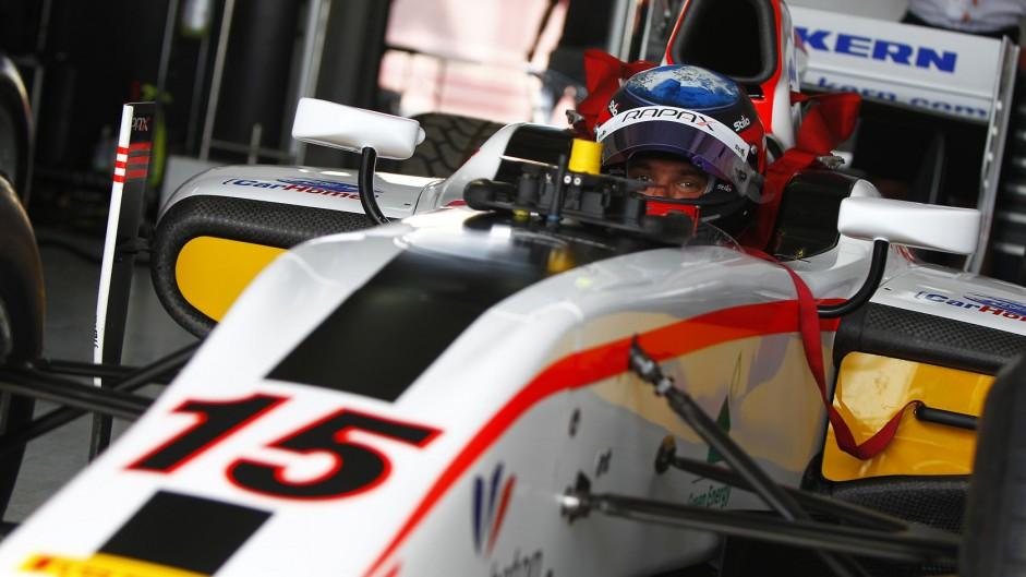 Simon Trummer, Rapax, GP2, Bahrain, 2014