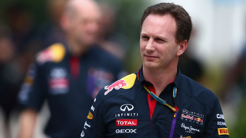 Christian Horner, Red Bull, Sepang International Circuit, 2014